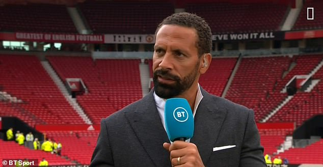 But Ferdinand has looked to ease any tension and says 'It's all love' with his former partner.