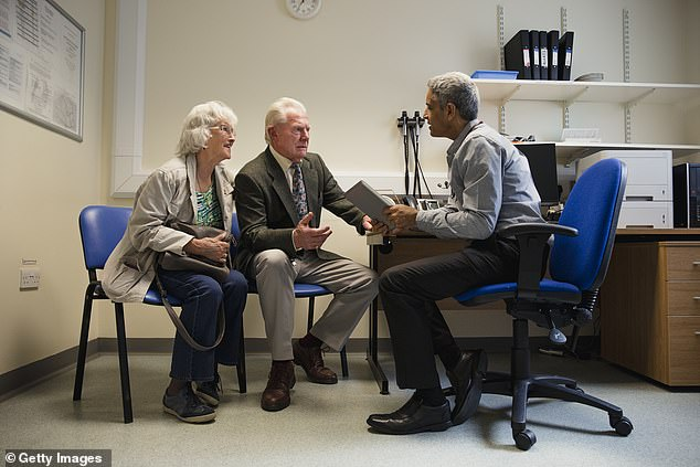 Pressed on the issue yesterday, the Prime Minister's spokesman said: 'The NHS is clear to each GP exercise that they should provide face-to-face appointments, and we fully support this