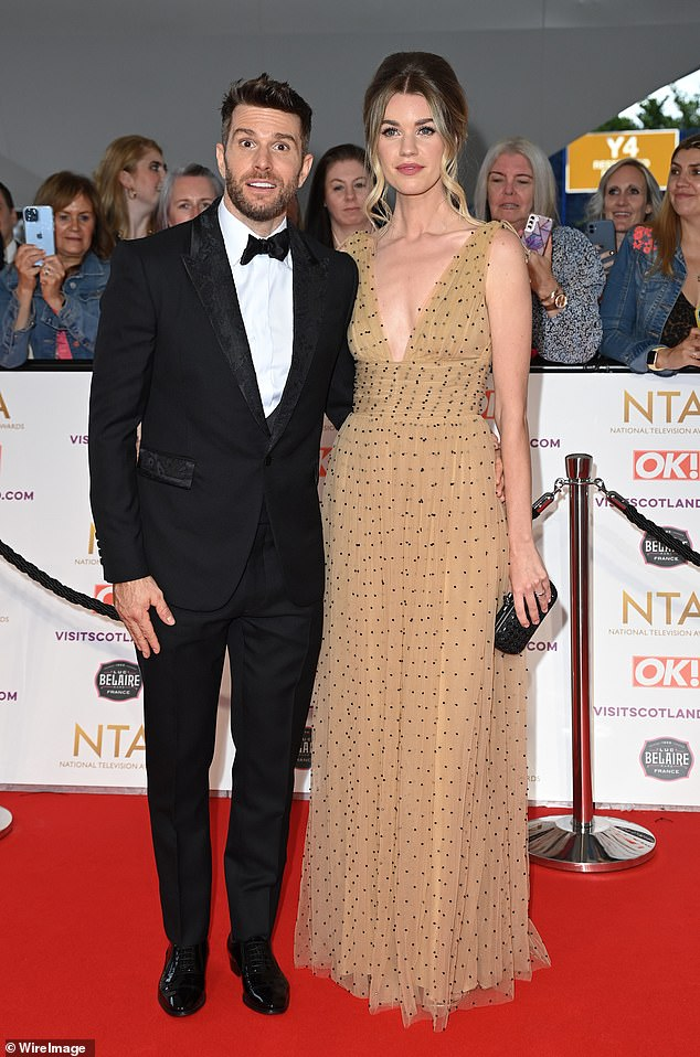 Success:Joel is no doubt still pleased with himself following his lauded turn at hosting the National Television Awards last week [pictured at the event]