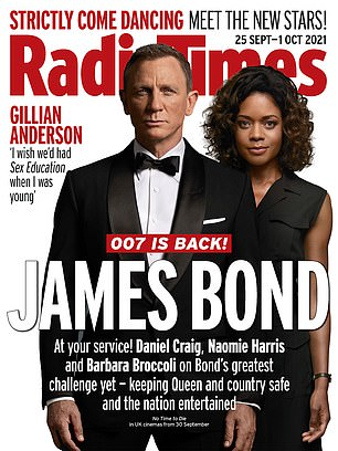 Get out!  Read the full interview in this week's Radio Times