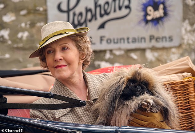 Current role: The 74-year-old thespian plays Mrs Pumpfrey in the All Creatures Great and Small reboot – and while she believes there are a lot of interesting roles for women these days, she's considered lumbering her age group noticed with 'wasp' characters