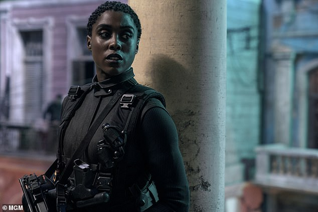Progress: Amidst calls for the next 007 to be played by a woman (Lashana Lynch portrayed in No Time to Die), the actor said that 'there just should be better parts for women'