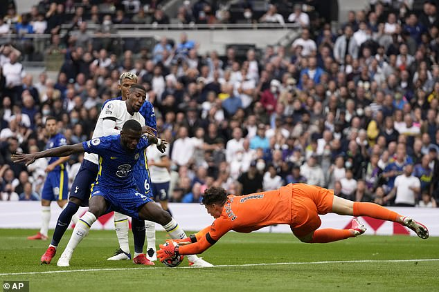 Rudiger has become a hugely influential figure at Chelsea over the past nine months