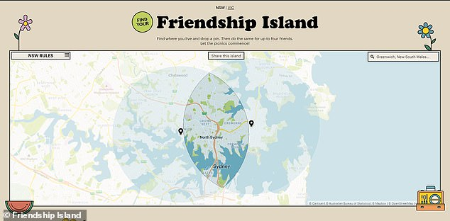 The website is the brainchild of Sydney trio Stella Blake-Kelly, Ken Tsang and Vanessa Brewster