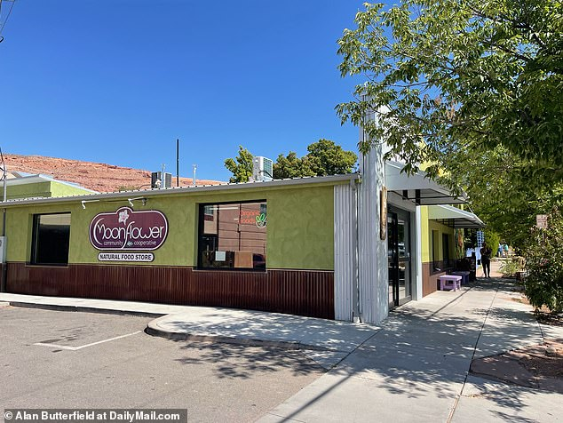 Cops received reports of a possible domestic violence incident near the Moonflower Community Co-op in Moab on August 12