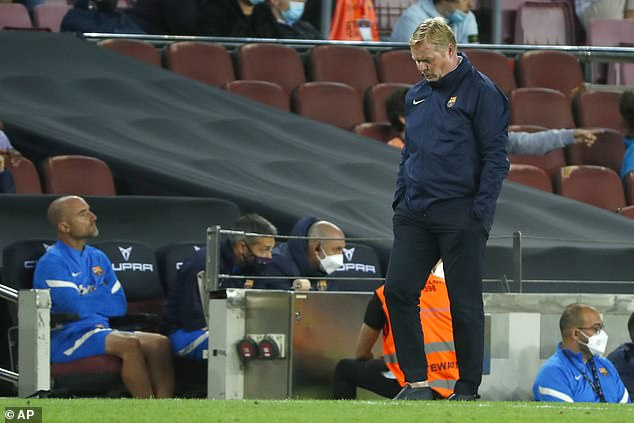 The draw put the pressure on Ronald Koeman, who defended his side's straight style