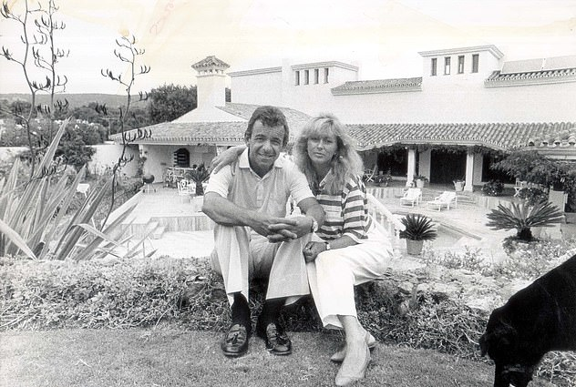 Jacklin married again later that year, to Astrid Waagen, after meeting her only months after his first wife's death. The couple remain together to this day and are pictured here in Spain