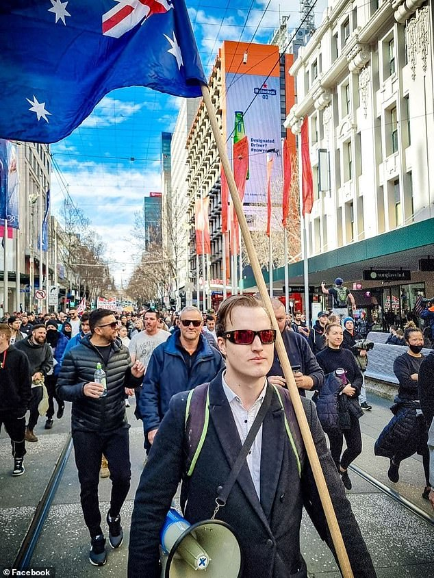 After the 2020 lockdown ended he became a key organiser and drove a shift in rhetoric to general themes of 'freedom' that attracted legions of new followers