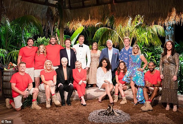 Crew:In a statement to Daily Mail Australia, an ITV Studios Australia spokesperson confirmed that an I'm A Celebrity crew member has tested positive for Covid-19. Pictured: Last year's cast