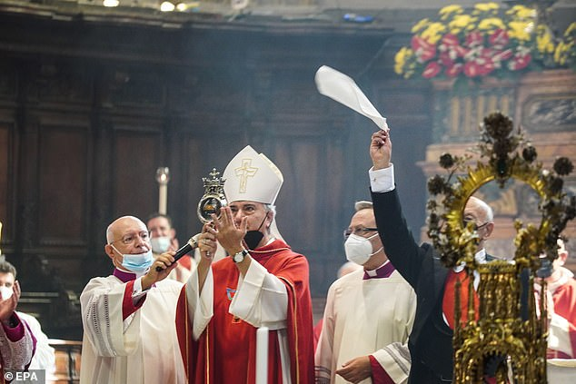 Napoli are linking good luck caused by the melting of San Gennaro's blood to their good start