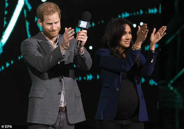 When in New York, Harry, 37, and Meghan (pictured together in March 2019), 40, will also air from Central Park for the Global Citizen live event on Saturday.