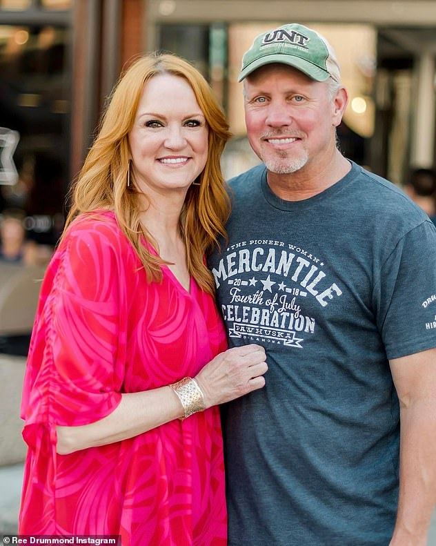 Precious:Ree was especially grateful to celebrate after Ladd almost died in a car accident on their sprawling cattle ranch west of Pawhuska, Oklahoma earlier this year