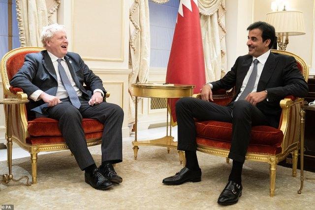 MrJohnson has met the Qatari Emir Sheikh Tamim bin Hamad Al Thani in New York