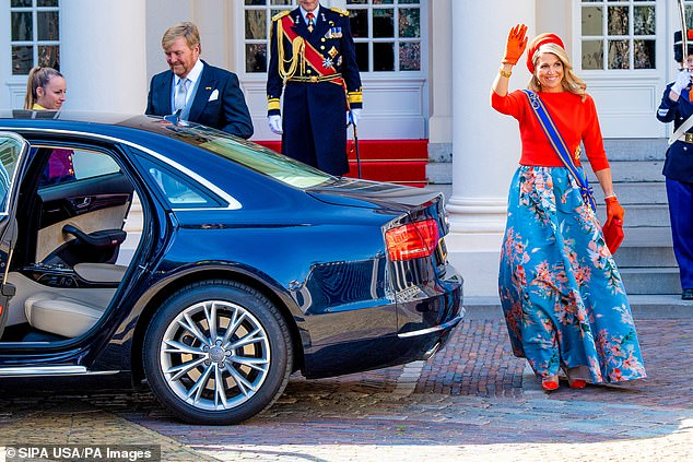 For the second straight year, the king's 'speech from the throne' was held in a Hague church instead of the historic Knight's Hall due to coronavirus restrictions and there was no horse-drawn carriage ride for the royal family through packed streets