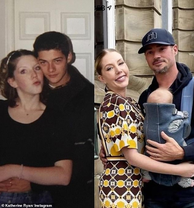 Old Flames: Bobby and Katherine first met in high school in Canada, and rekindled their flame after moving back to their home country to film Who Do You Think You Are