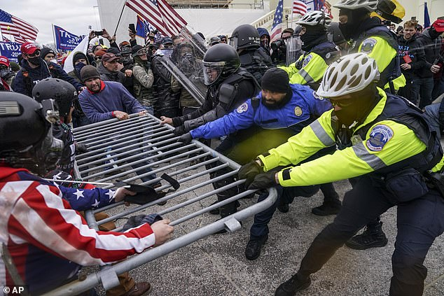 Immediately after violent Trump supporters stormed the Capitol on January 6, Johnson 'unreservedly condemned' the then-president