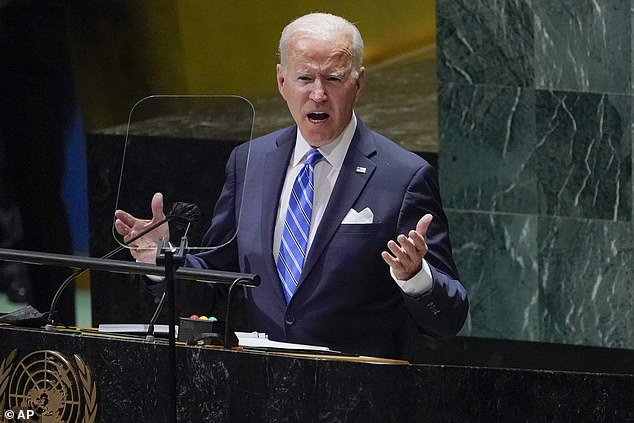 Biden pledged to double the US's climate funding in a speech to the United Nations General Assembly on Tuesday