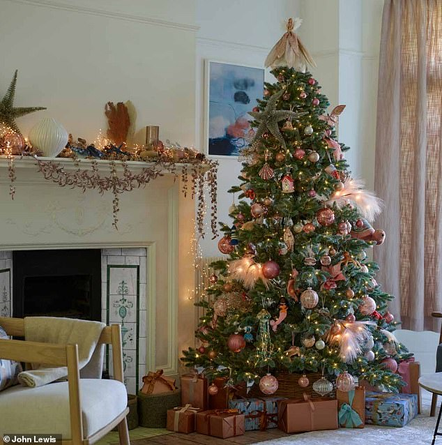 Blush Coast tries to bring together the beauty of Christmas and the Coast to create a cozy festive decoration