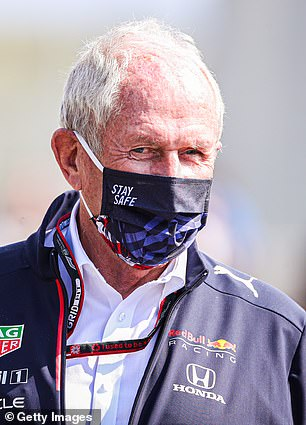 Red Bull consultant Helmut Marko (above) has accused Hamilton and his team of making excuses for his injuries