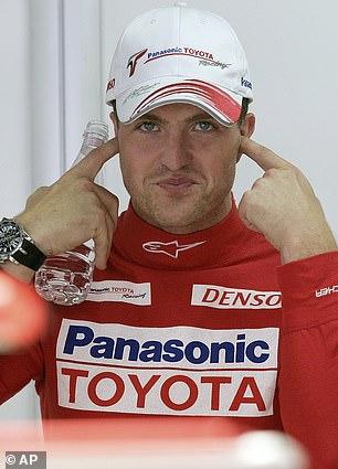 Ralf Schumacher (above) believes Hamilton dramatized the crash at the Italian Grand Prix