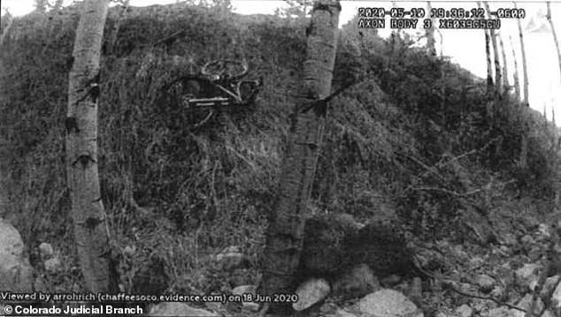 Police on Monday released aphoto of missing mom Suzanne Morphew's abandoned bike. She went missing on Mother's Day 2020 and still hasn't been found