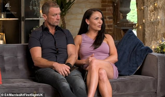 Married at First Sight UK viewers slammed 'controlling' Franky tonight as they urged his wife Marilyse to 'leave him' during the final commitment ceremony