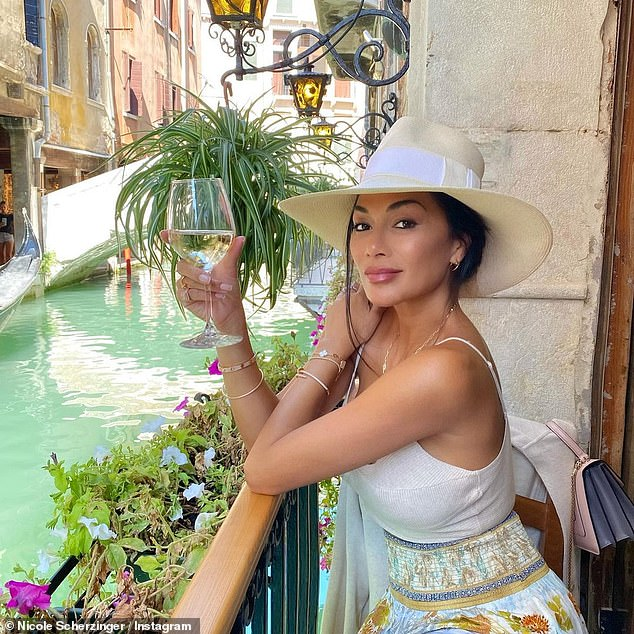 In Style: This Comes When Nicole previously took to Instagram to share photos from her day exploring the Italian city