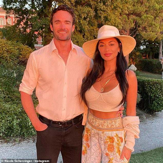 Sweet: Couple enjoying vacation in Venice