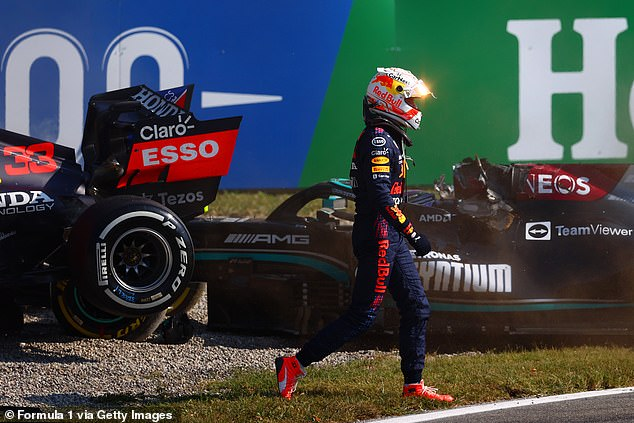 The Dutchman was accused of failing to investigate Hamilton after his spectacular crash