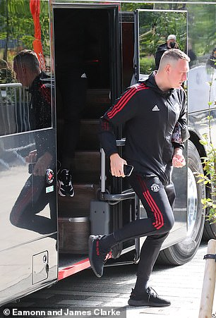 Phil Jones may appear in United shirt for the first time in 20 months