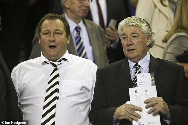 The 74-year-old - who also managed Newcastle - was diagnosed after 'aggressive' behavior