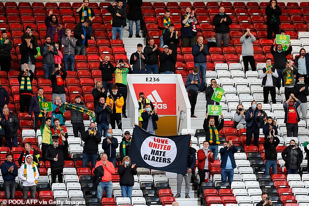It could see the return of socially distancing fans with masks in stadiums across England