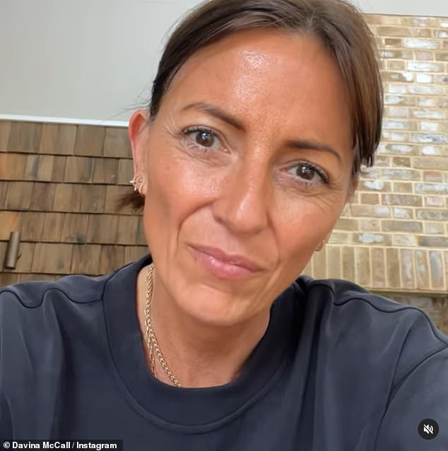 'Total legend':Davina recently marked World Alzheimer's Day with a heartfelt Instagram post which detailed her dad Andrew's struggle with the neurological disorder