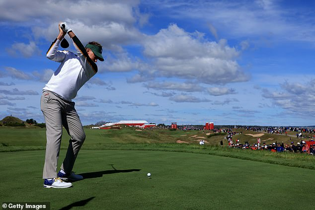 The Englishman missed the cut across the Whistling Straits on his most recent major voyage six years ago