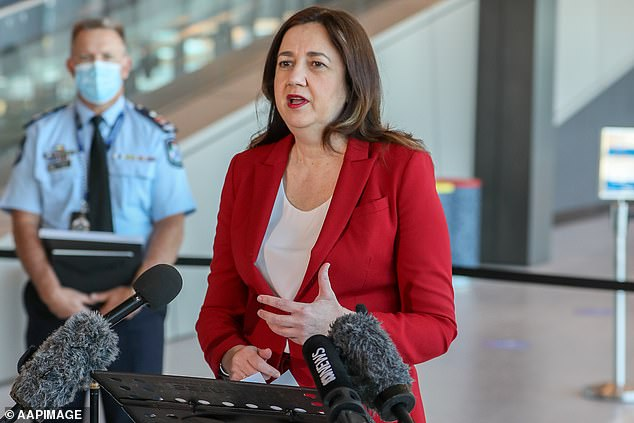 Queensland's premier Annastacia Palaszczuk (pictured) says she will ignore the national cabinet agreement and wants to keep borders closed even after 80 per cent vaccination rates are reached