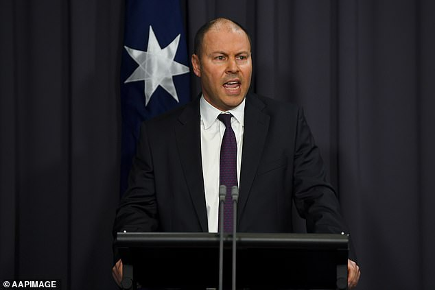 Treasurer Josh Frydenberg (pictured) says businesses that recognise climate change-triggered trends will have the most promising futures