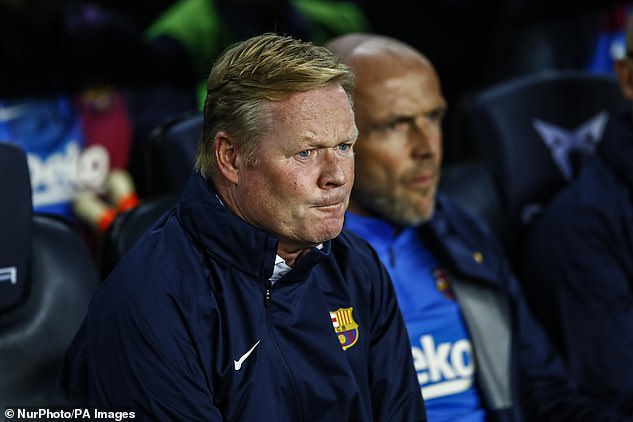 It is understood that Koeman did not tell the club's board that he would be reading a statement.