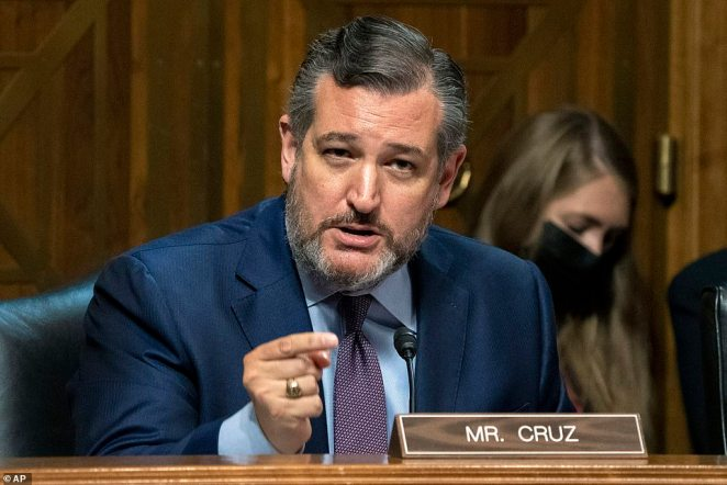 Ted Cruz has slammed Joe Biden's management of the migrant border crisis, saying thousands of Haitians rushed to Texas after the president canceled deportation flights