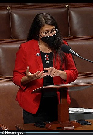 Rep. Rashida Tlaib urged her colleagues to vote against funding for Israel's 'apartheid regime'
