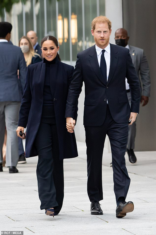 The couple is in New York to attend Saturday's Global Citizen Live event at Central Park to encourage equal access to COVID-19 vaccines