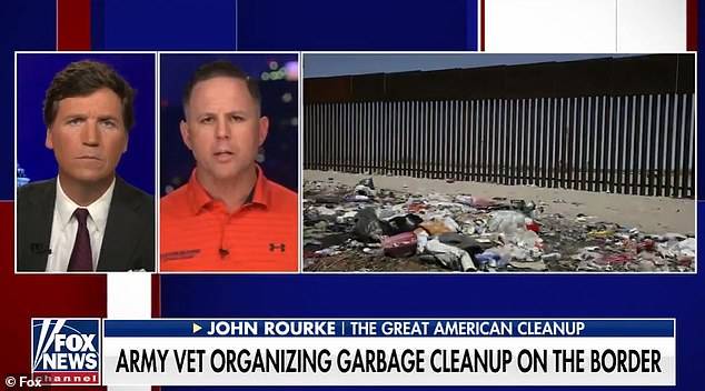 John Rourke on Wednesday night told of the distressing scenes he saw in Del Rio, Texas