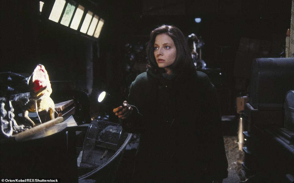 Cinematic history: Both Levine and Jodie Foster, who played FBI Agent Clarice Starling, filmed scenes in the home