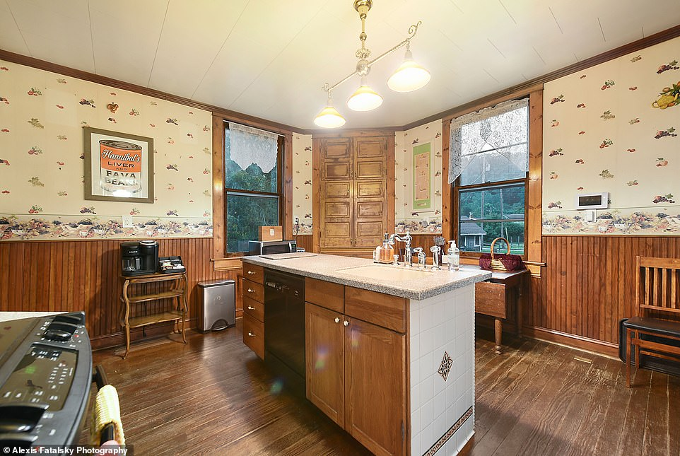 Home away from home: Guest have full access to the private rental for the duration of their stay, and the kitchen comes equipped with a stove and dishwasher