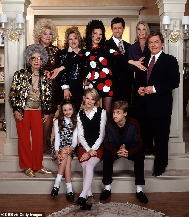 Hit show:The show, which Drescher co-created with her then-husband Peter Marc Jacobson and Prudence Fraser, ran for six seasons from 1993 to 1999
