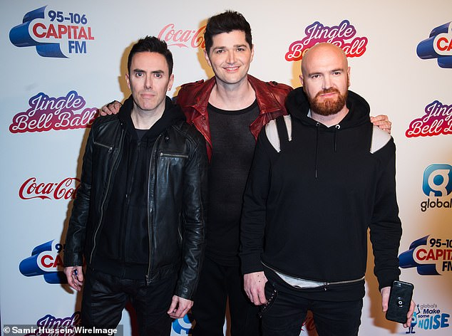 Plagiarism? The X factor star faced legal dispute from the Irish band after they claimed the song was 'too similar' to The Man Who Can't Be Moved (pictured in 2017)