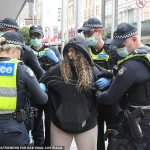 Melbourne protests: Parade of ARRESTS replaces Grand Final Parade 💥👩💥