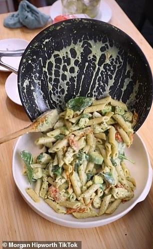 , Morgan Hipworth shares his simple recipe for a creamy chicken pesto pasta, The Today News USA