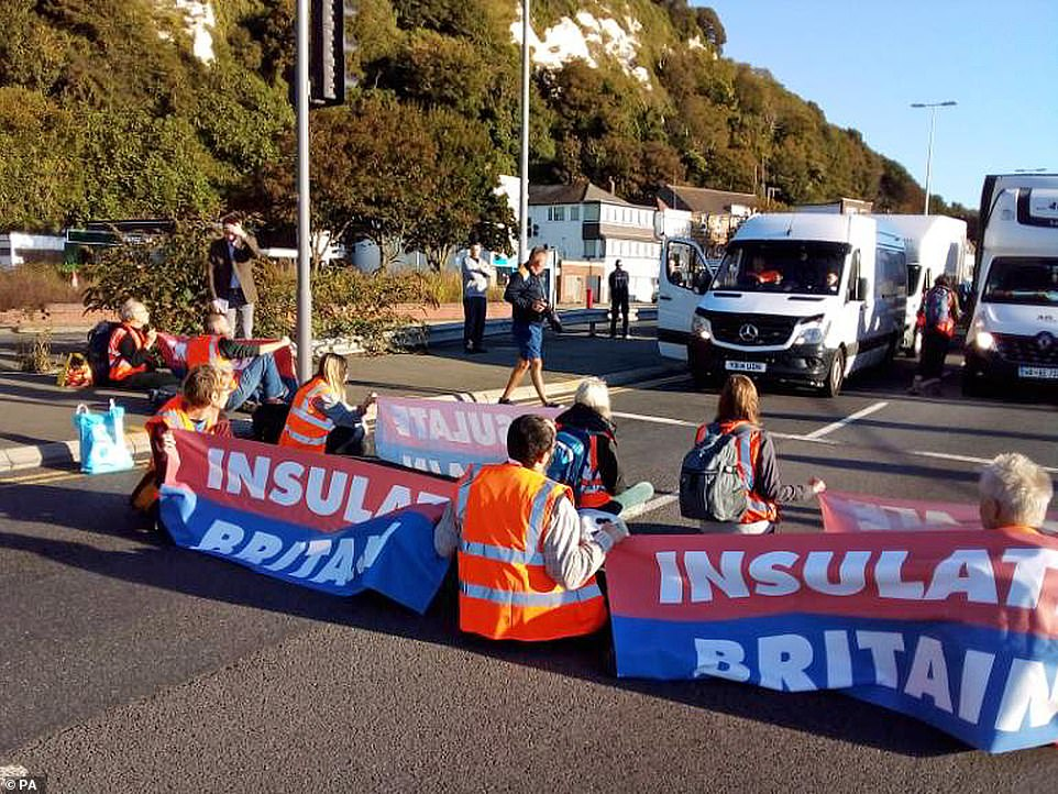 , Now Insulate Britain block PORT at Dover as eco mob make a mockery of Priti Patel's injunction, The Today News USA