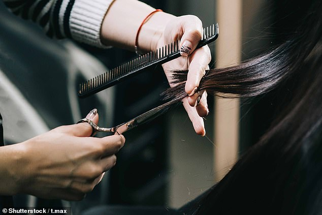 A hair salon in Delhi, India, has been ordered to pay almost £200,000 to an Indian model after they gave her the wrong haircut (stock image)