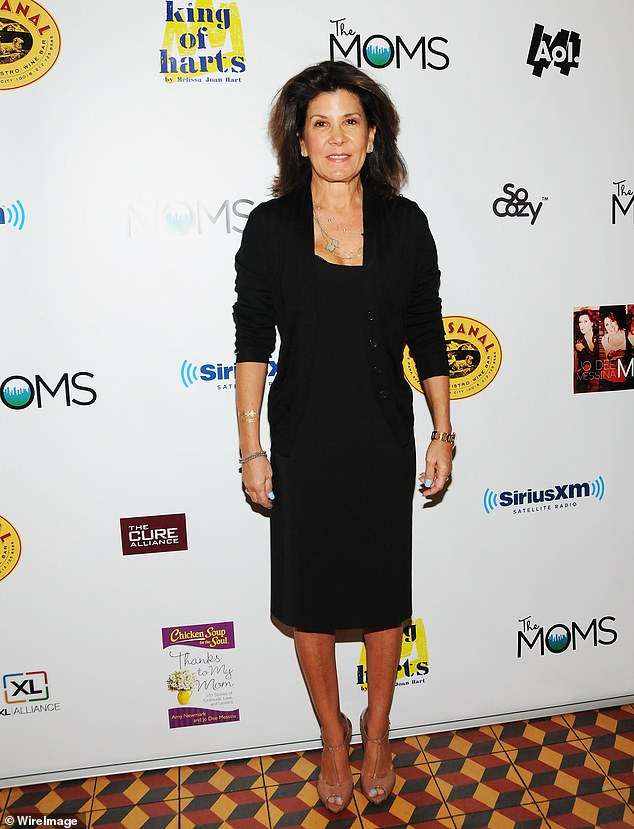 Shelley Ross, former executive producer at ABC and CBS,(pictured in 2015) said the alleged incident took place at a going-away party for an ABC colleague back in 2005